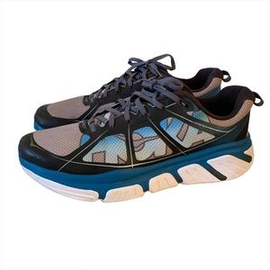 Hoka One One Infinite Size 12.5 Blue Running Shoes